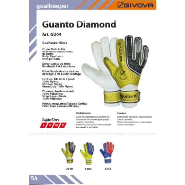 Guanto Diamond
