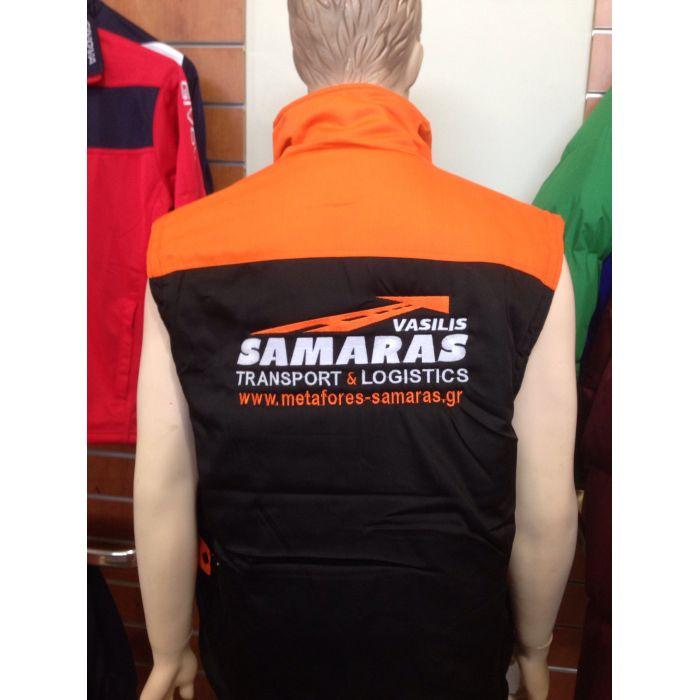 Κεντήματα σε αμάνικα   μπουφάν εργασίας - Interprom - Διαφημιστικά ... 8d5a52e2713